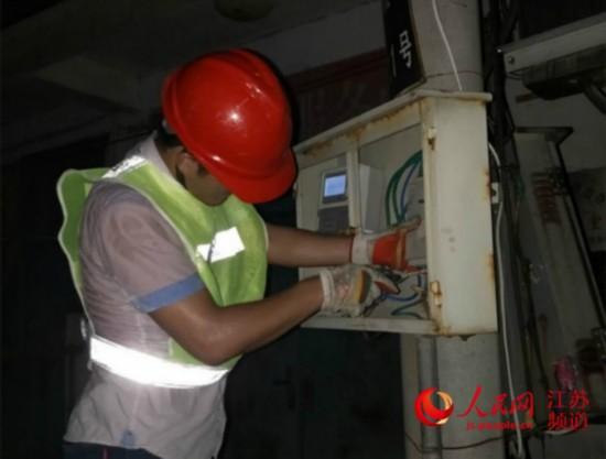 徐州遭遇强降雨 移动公司紧急抗灾保通信畅通