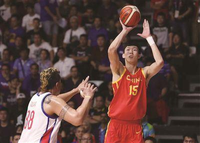 领先两位数被反超 中国男篮仍险胜菲律宾