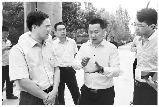 宁夏铁腕治污 违法企业所在地永