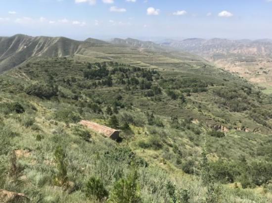 """生态建设 志在荒山秃岭再造一座秀美""""兴隆山"""""""