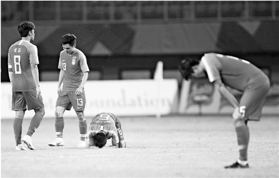 为当红小生的今天惋惜为中国足球的明天忧虑