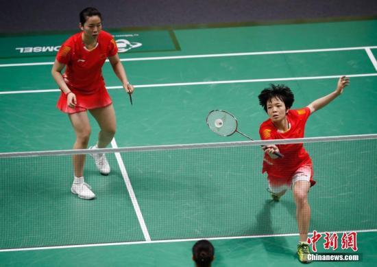 资料图:中国队选手陈清晨/贾一凡。<a target='_blank'  data-cke-saved-href='http://www.chinanews.com/' href='http://www.chinanews.com/'><p  align=