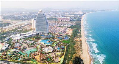 """海棠湾秀出""""国家海岸""""建设新速度"""