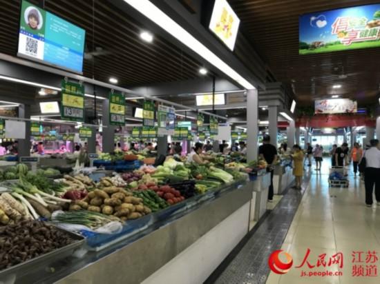 南京农贸市场标准化管理 环境整洁如超市