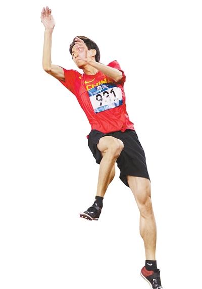 亚运跳高冠军王宇来自珠海
