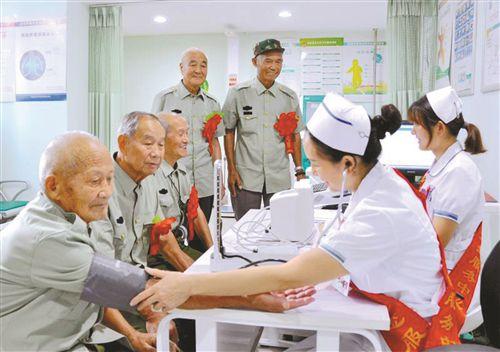 徐州35名重点优抚对象享受12天短期疗养