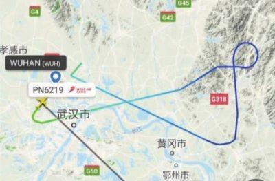 武汉至福州航班上一乘客突发哮喘 飞机紧急返航