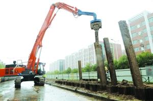 淮安经济技术开发区对排水管网及设施进行改造