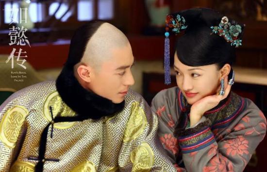 电视剧《如懿传》剧照。该剧主题曲由林忆莲和张惠妹演唱。