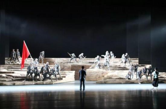 舞剧《不到长城非好汉》下月首演
