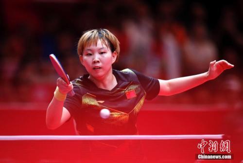 当地时间8月28日,中国乒乓球队战胜朝鲜队,获得第18届亚运会乒乓球女子团体冠军。<a target='_blank'  data-cke-saved-href='http://www.chinanews.com/' href='http://www.chinanews.com/'><p  align=