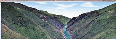 """利用3D技术 给8.24万平方公里的重庆""""画像"""""""