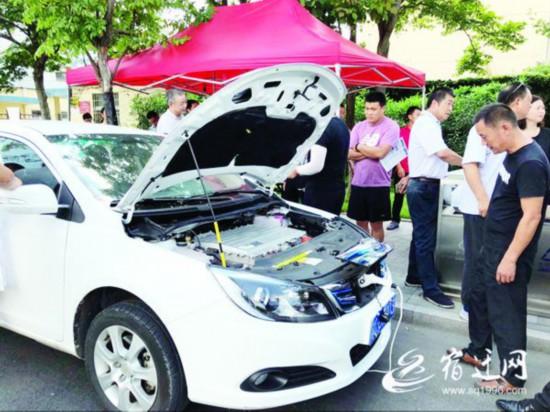 宿迁市区将上新能源出租车 五家汽车品牌亮出看家车型备选