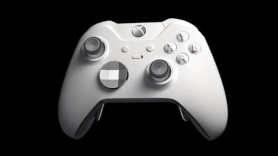 微软公布XboxOne白色特别版精英手柄