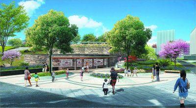 文体元素入景 南京栖霞区再造一座山体公园
