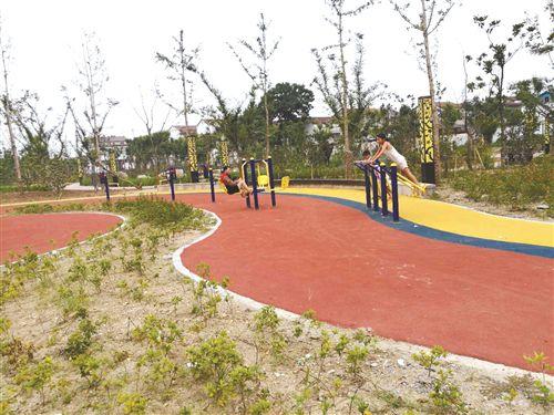 徐州铜山利国休闲公园开放 满足市民休闲健身