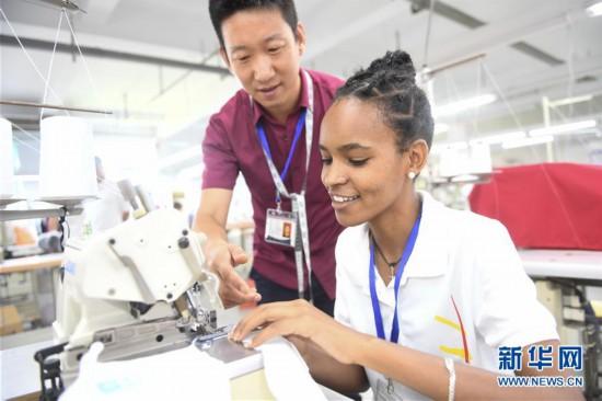 (中非合作论坛)(1)埃塞俄比亚员工感受中国文化