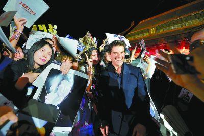 阿汤哥携《碟中谍6》来华:我会一直为了拍电影拼命