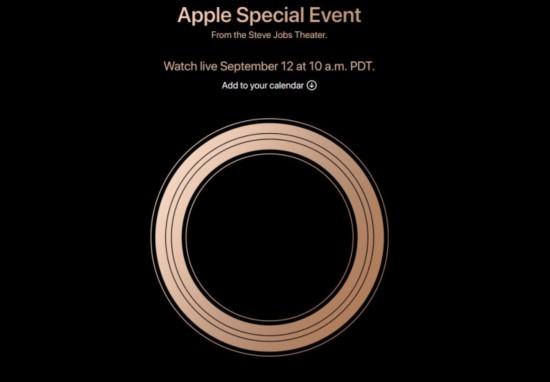 苹果确定9月12日举行新品发布会或将发布三款新iPhone