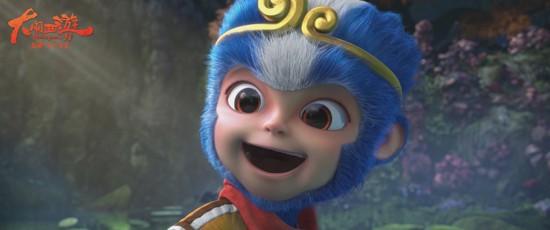 《大闹西游》小蓝猴表情包上线萌趣与实用兼具