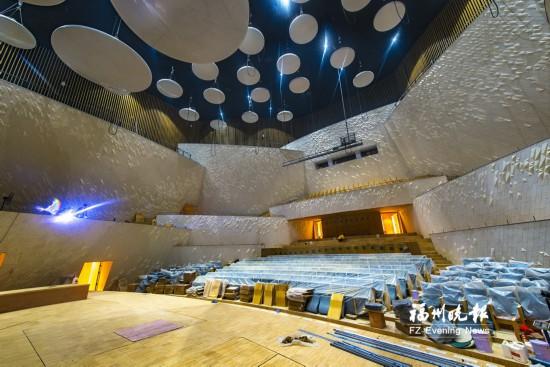 海峡文化艺术中心正式通过验收 10月将迎来首演