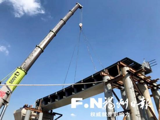 桥梁桩基施工基本完成 福银高速沙堤互通有望春节前通车