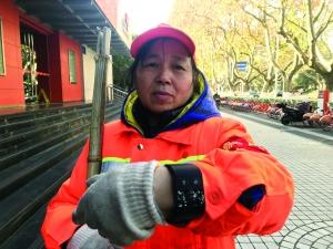 南京1.5万环卫工将配发智能装备 能定位能对讲