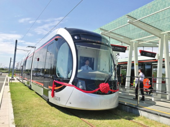 苏州有轨电车2号线试运营 单程运营36分钟