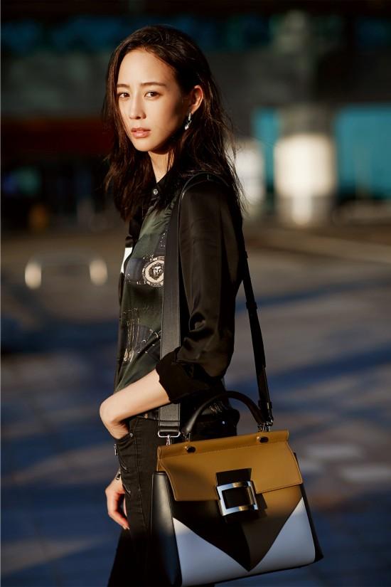 张钧甯受邀参加纽约时装周 衬衫也能穿出高级美