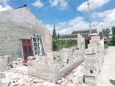 南通海门工业园区协同拆除违章建筑2204处