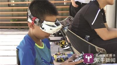 时速300公里 苏州13岁男孩飙无人机飙进国家队