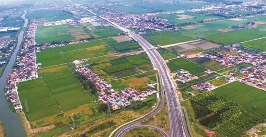 328国道海姜段快速路高架桥主体工程完工
