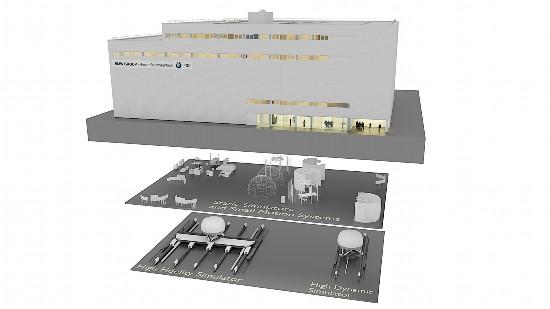 宝马建全球最先进无人驾驶汽车模拟现实测试中心