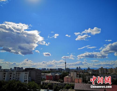 8月份北京PM2.5浓度创近年来历史同期最低
