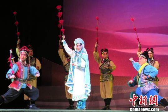 第五届丝绸之路国际艺术节开幕118个国家和地区参与