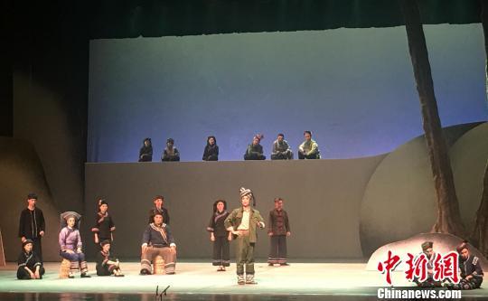 2018中国―东盟(南宁)戏剧周开幕上演双边特色戏剧艺术盛宴