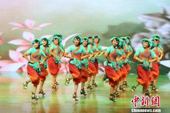 《一路同心》首场演出。陕西省文化厅供图