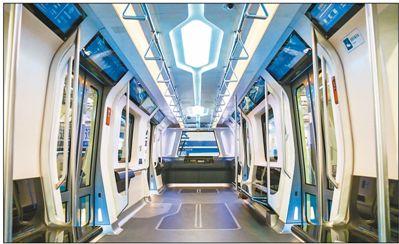 新一代地铁外形酷似