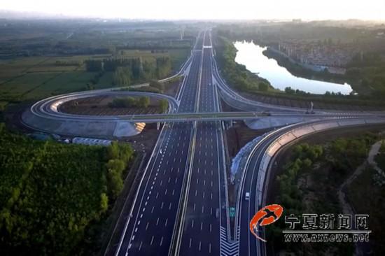 京藏高速公路叶盛互通立交桥.jpg
