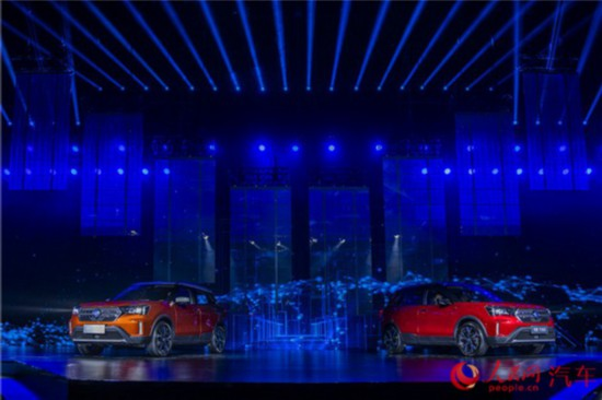 东风启辰T60正式发布 预售价9万元-12万元