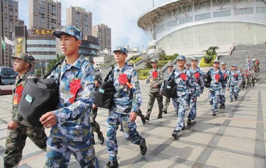 龙岩举行2018年新兵入伍欢送仪式