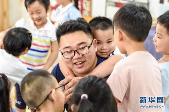 走近3%――幼儿园男教师的幸福坚守