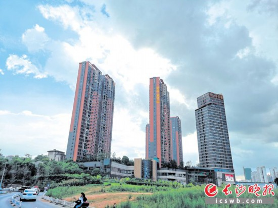 成交的5宗土地中,2宗為純商業用地,3宗為限價商、住用地。  長沙晚報記者 陳馨怡 攝