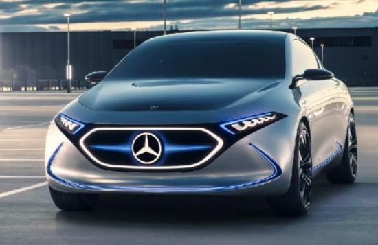 奔驰拟2022年前推10款纯电动车 含Smart/EQ家族