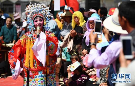 (文化)(4)甘肃静宁:贫困村里的快乐文化舞台