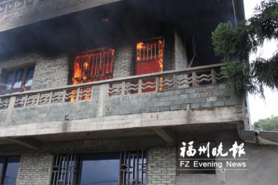 福州闽侯一民房为何两天四次起火 原来是13岁女孩惹祸