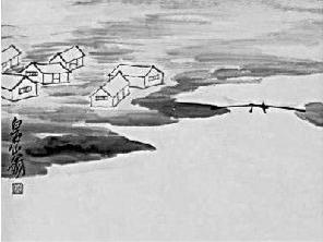 齐白石的山水画境