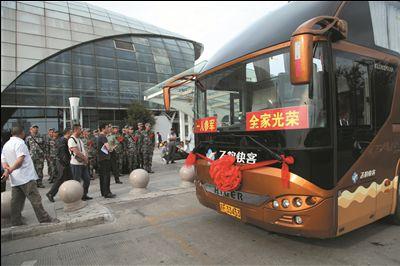 选派36名驾驶员执行运输任务,运输方向主要为南通火车站,以及南京