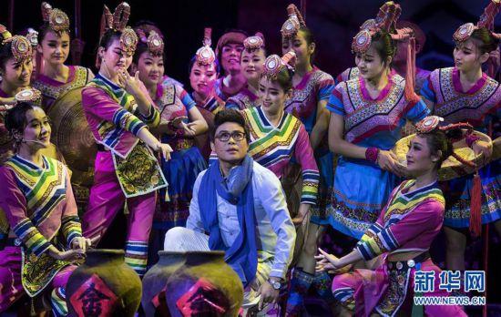 (文化)(1)《绿皮火车》驶进丝路国际艺术节