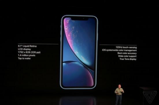 10月19日开始预购 苹果iPhone XR正式发布:6.1英寸 多配色机身